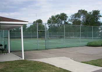 Tennis Courts at Buffalo Launch Club