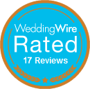 Wedding Wire Rated 17 Reviews